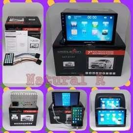 DOUBLE DIN SKELETON skt 8197, full glass 7 inch touch screen