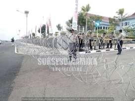 Harga Kawat Silet Razor Wire Sukses Dinamika Engineering