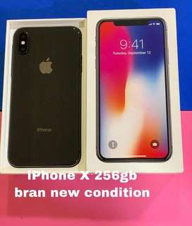 Iphone X 256gb brand new comdition