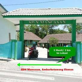 Tanah Murah Jl. Wates KM 7 Diskon 25%
