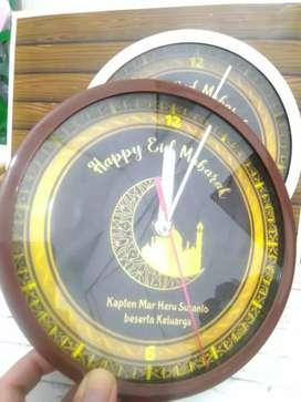 Jam dinding souvenir custom