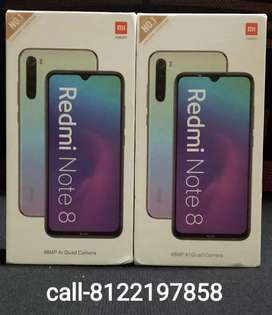 {Redmi note 8 4/64}-{Note 8 pro 6/128}-Sealed/with bill 1 yr warranty