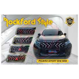 Grill All New Pajero Model Rockford | KIKIM Variasi