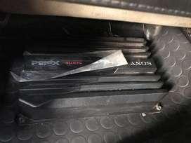 Sony xplod 500w in car amplifier black