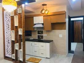 3 Bhk flat,30ft wide road in front, peaceful location