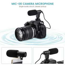 TaffStudio Camera DSLR Shotgun Microphone 3.5mm