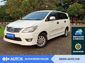 [OLX Autos] Toyota Kijang Innova 2012 G Lux 2.0 Bensin A/T #Rasya Auto