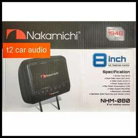 Monitor headrest NAKAMICHI japan 8inc full hd harga grosir gan ajib