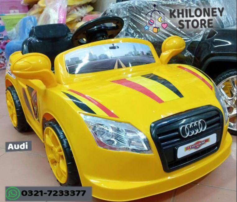 Audi Kids Ride On car Double battery 0