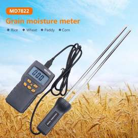 Grain Moisture Meter MD7822 LCD Display Humidity Tester Contains Wheat