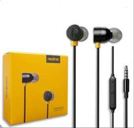 Headset earphone realme buds 2 magnetic dengan mic gress