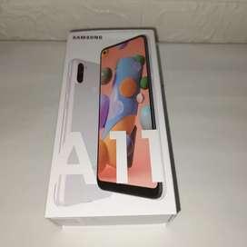 Samsung galaxy A11 kondisi baru