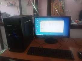 i3 8th Gen Computer - Desktop