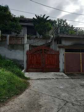 1.5 kotha house and land for sale, hillside fully constructed road.