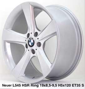 NEUER L545 HSR R19X85/95 H5X120 ET35 SILVER