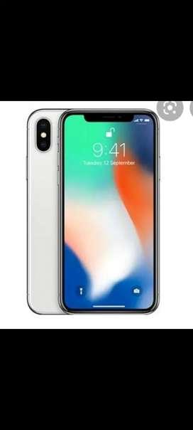 I phone X 64 gb white colour