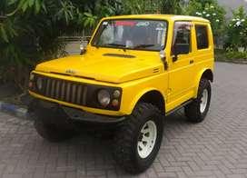 Suzuki Jimny 4x4 Trepes Asli 1983