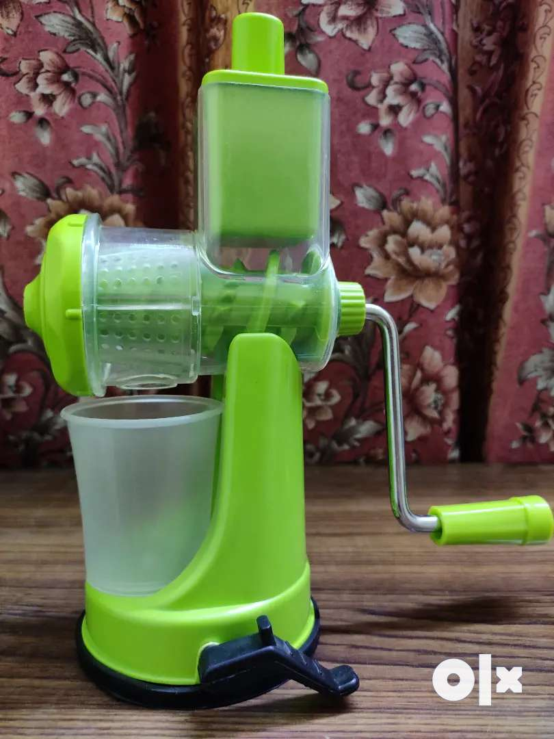 Premium Hand Juicer With Box | Green Colour | Best for Citrus Fruits