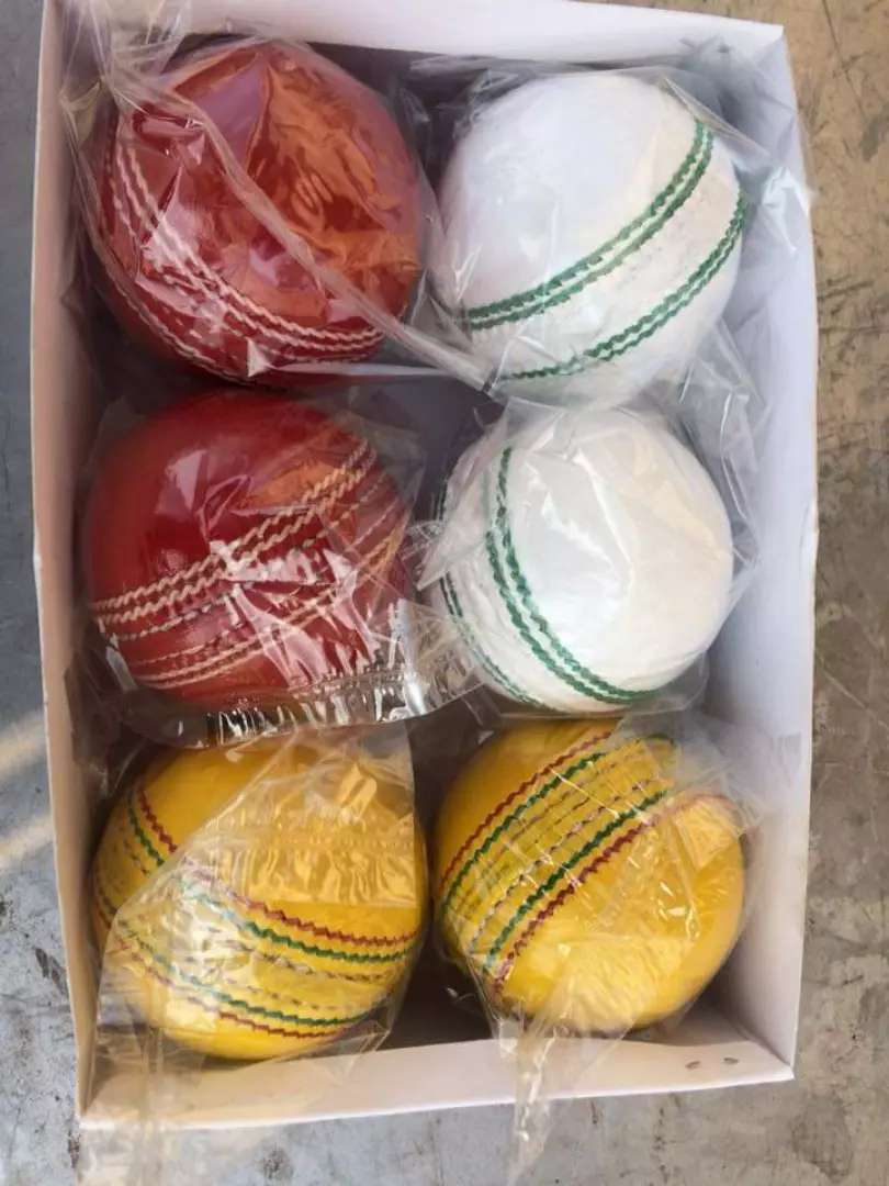 Cricket hard balls best qualities.. For test match t20 match. One day 0