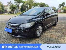 [OLXAutos] Honda Civic 2010 FD 1.8 Bensin A/T Hitam #Volta Auto