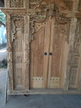 suciyati cuci gudang pintu gebyok gapuro jendela rumah masjid musholla