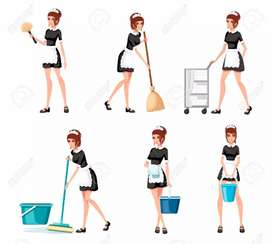 Maids required for 24 hours