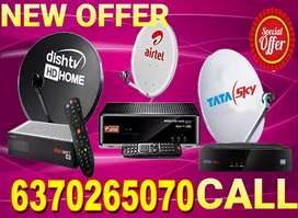 AIRTEL ! VIDEOCON D2H ! DTH CONNECTION ! TATA SKY ! DISH TV ! TV