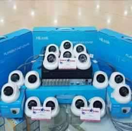 Paket komplit camera cctv area margoyoso