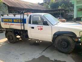 1.TAFE Di tractor with Trailer and plough. 2. Di watertank.