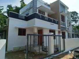 3 bhk 1200 sqft new build house at aluva paravur road karumallur