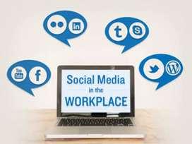 Work from social media