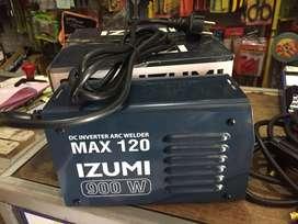 Masin las izumi max 120 ampere 900 bukan 450