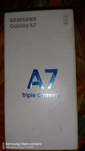 Samsung a7 new phone 7month warranty 64gb 4gb