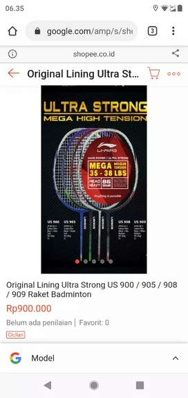 Raket Lining 7Ultra Strong US 900