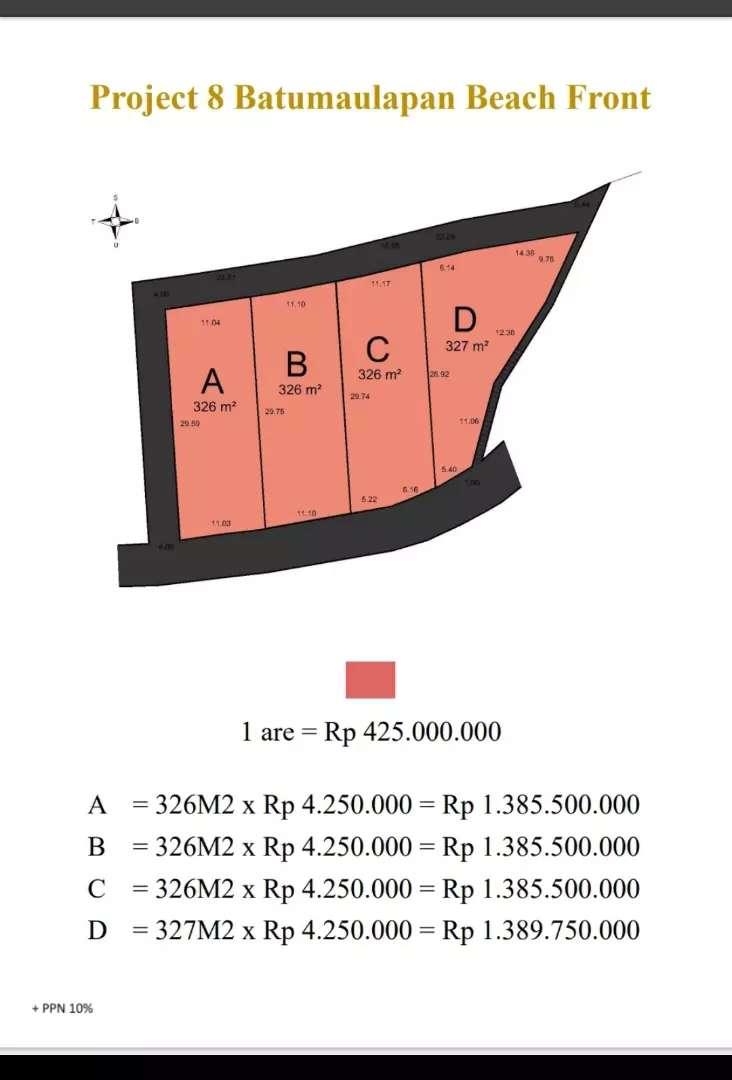 Dijual Tanah di pulau Nusa Penida island Nusapenida Indonesia