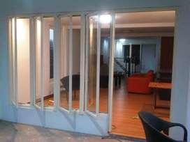 Menjual dan memasang pintu jendela alumunium dan kaca
