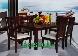 Meja makan Dudukan Busa 6 person - harga Mantap dan Ekonomis