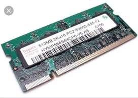 Laptop Ram DDR2 512mb