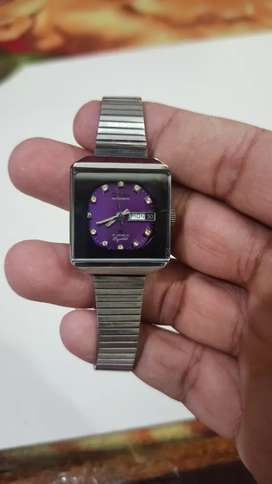 Omax crystal Automatic purple ladies original swiss