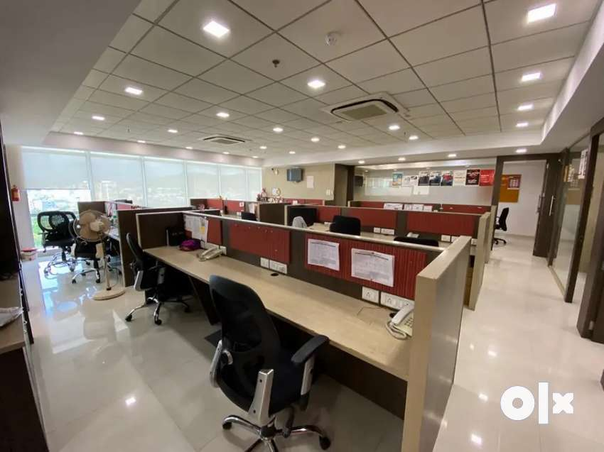 Full furnished office on rent in Mahape at Rupa Solitair