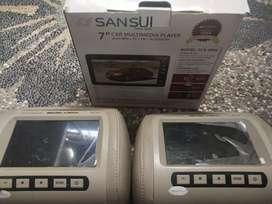 Sansui Car multimedia Player 7inch+Headrest sentru vision