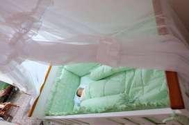 Box bayi kayu kelambu bagus