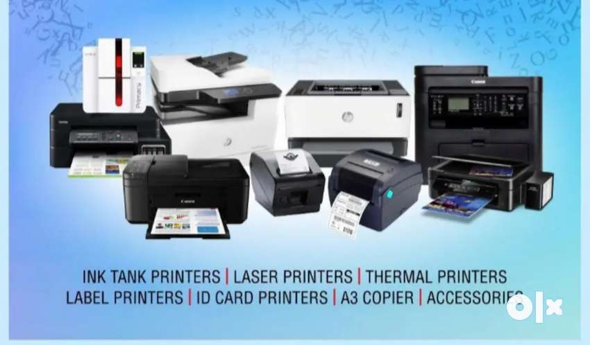 Hp, Canon, Epson, brother printers and cartridges