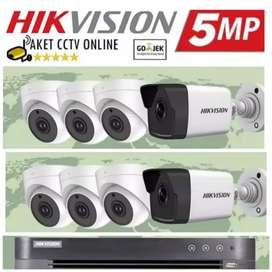 Spesial kamera CCTV brand Terbaik Paket siap Pasang di Serang
