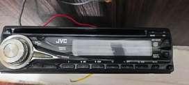 Tape mobil JVC cd dan radio nego halus