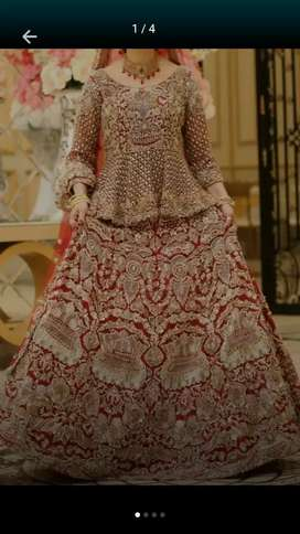 First day lehnga for rent