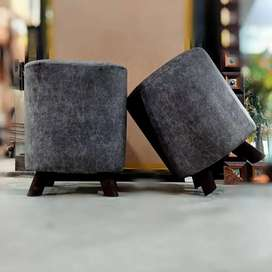 Puffy sitting stool available here