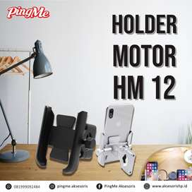 HOLDER MOTOR STANG HM-12 STAND HP DI MOTOR. aksesoris, powerbank, bali