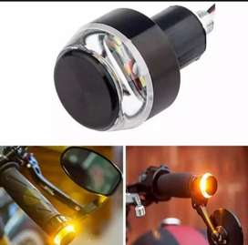 Motor cycle handle side  dual light