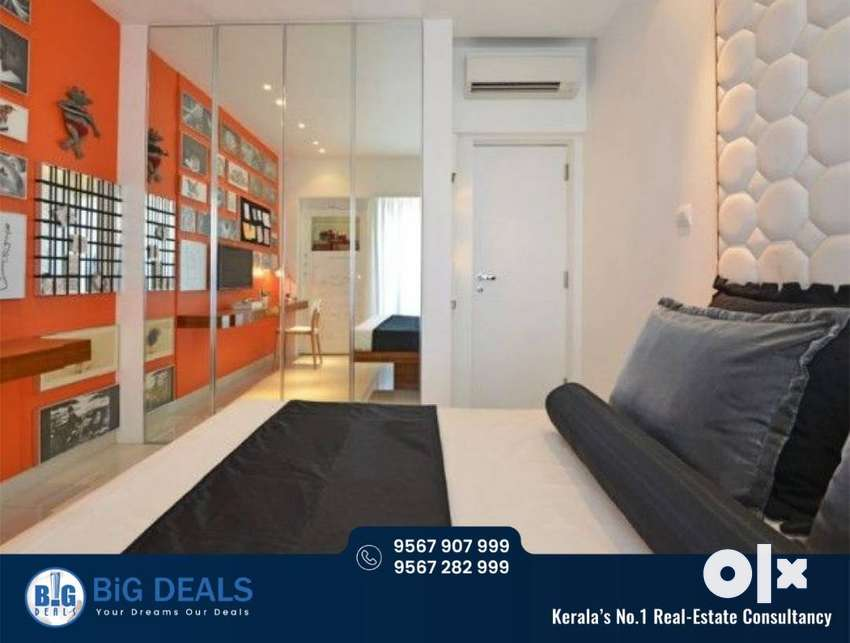 Luxury Flat For Rent At Hilite Residency-Thondayad